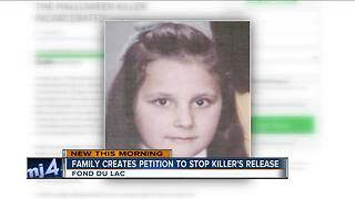Family of Fond du Lac girl killed in 1973 tries to stop killer's release - Video