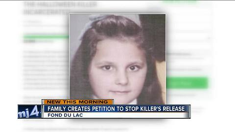 Family of Fond du Lac girl killed in 1973 tries to stop killer's release