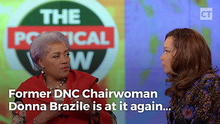 "Brazile Says Obama ""Leeched"" Off Party - Video"