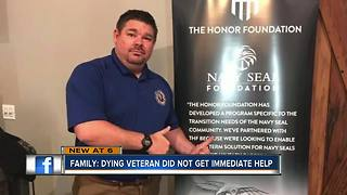 Family: Dying veteran did not get immediate help