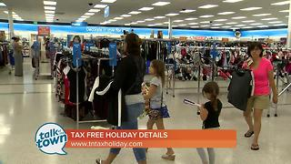 Ms. Cheap's Tax Free Holiday Weekend Shopping Tips - Video