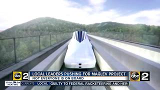 Local leaders pushing Maglev high-speed rail project, some not on board - Video