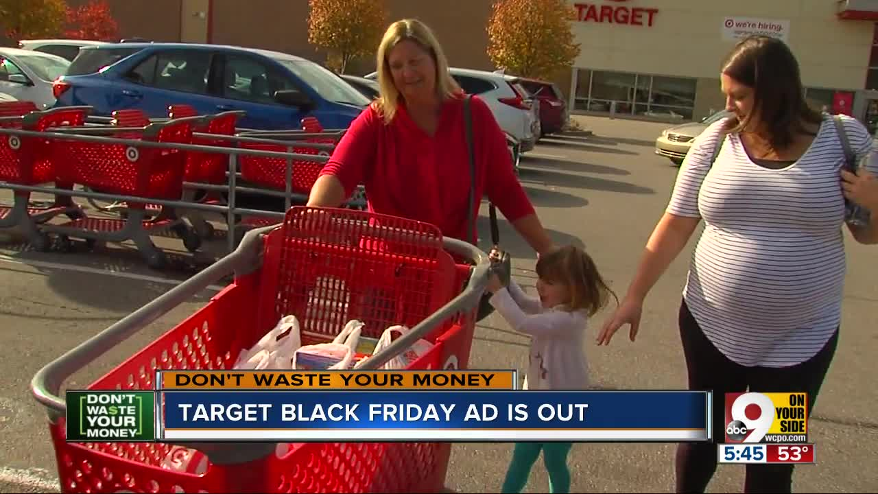 Don't Waste Your Money: Target releases Black Friday deals