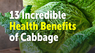 13 Incredible Health Benefits of Cabbage - Video