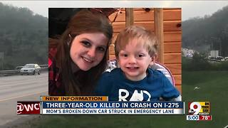 Charges possible in 3-year-old's death on I-275 - Video