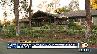 Neighbors worried about future of hotel in Escondido
