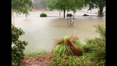 Flash Flooding in Wangaratta After Heavy Rainfall
