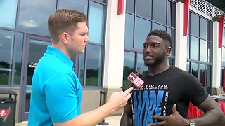 One-on-one interview with Bucs WR Chris Godwin