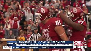 Sooners in strong position to make College Football Playoff - Video