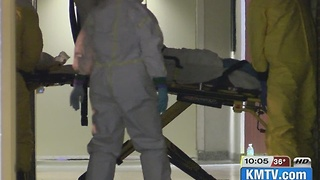 Nebraska Medicine trains for multiple Ebola patients at once - Video