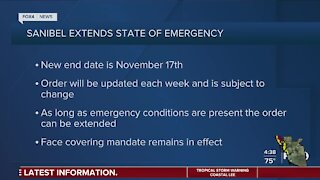 Sanibel extends state of emergency