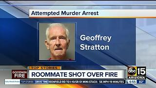 Prescott man admits to shooting roommate over Goodwin Fire danger - Video