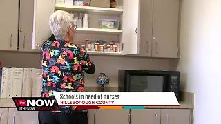 Hillsborough County Schools in need of school nurses - Video
