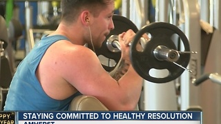Staying commited to a healthy resolution - Video
