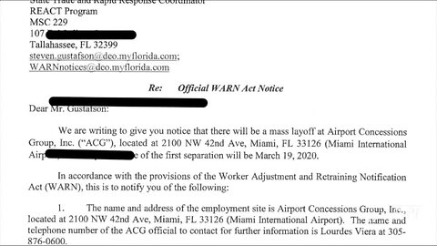 Letters to the feds show COVID-19 killing Florida's tourism industry