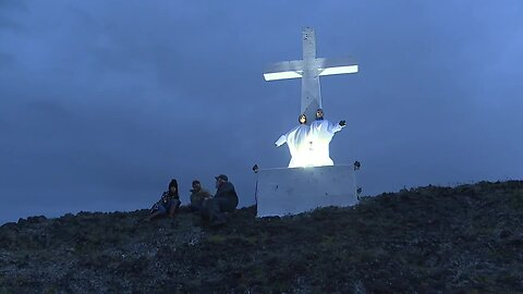 Easter sunrise service at Lizard Butte is a family tradition enjoyed by so many people