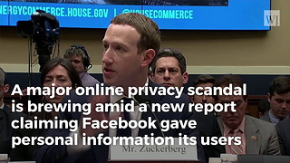 Facebook 'Data Sharing' Could Make Cambridge Analytica Look Small - Video