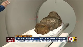Researchers try to solve mummy mystery