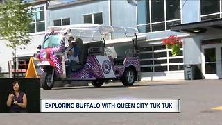 Exploring Buffalo with the Queen City Tuk Tuk - Video
