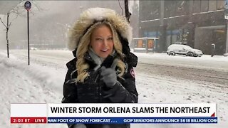 Winter Storm Orlena Ravages America's Mid-Section
