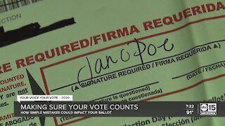Small things to make sure your vote counts