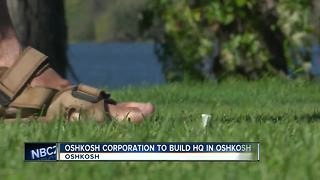 Oshkosh Corp. announces new headquarters location - Video
