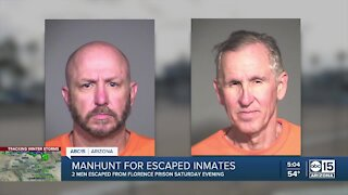 $60K reward offered for 2 Florence inmates who escaped Saturday