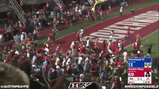 Students Celebrate End of 29-Game Losing Streak With Epic Pitch Invasion - Video