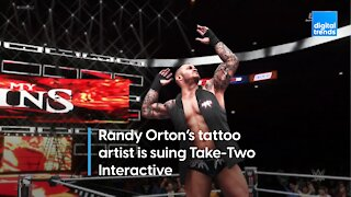 Tattoo artist sues WWE2K publisher Take-Two Interactive