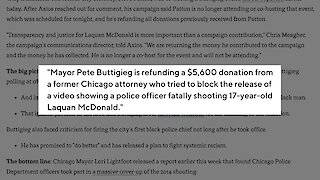 Report: Buttigieg Returning Contrbutions From Former Chicago Attorney Patton
