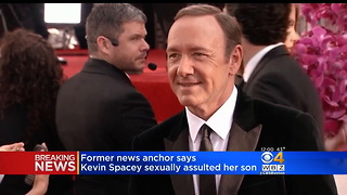 Former Anchor Claims Son Was Sexually Assaulted by Kevin Spacey and Urges a Possible Witness to Come Forward - Video
