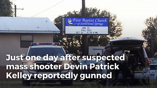 Texas Shooter Targeted In-Laws' Church, Killed Wife's Grandmother - Video