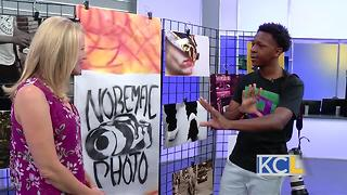 15-year-old photographer talks about his work - Video