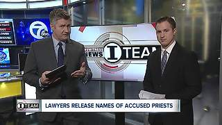 Law firm releases names of 13 priests accused of sexually abusing priests - Video