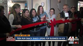 Snack Shack in KCK is new hangout for kids - Video