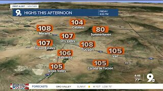 Excessive Heat Warning this weekend