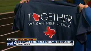Greendale and Pewaukee come together to raise money for Houston