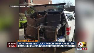 Northern Kentucky porch thief arrested - Video