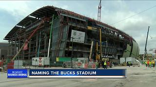 Naming the new Bucks Arena