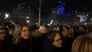 Demonstrators Gather in Paris to Protest Anti-Semitic Attacks - Video