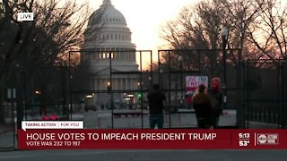 Impeachment latest 1-13-21