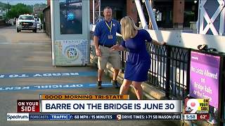 Photographer Dwayne Slavey Prepares for Barre on the Bridge - Video