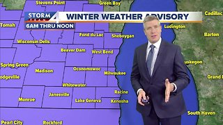 Winter Weather Advisory issued for Wed. morning