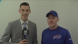 1-on-1 with Bills HC Sean McDermott and 7ABC's Joe B. (9/24/17)