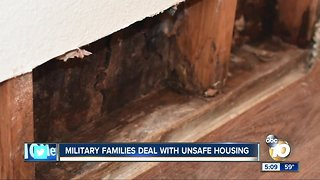 Military families face terrible living conditions