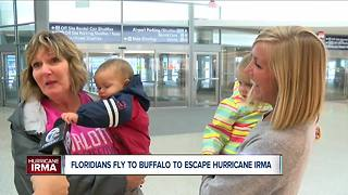 Irma pushes Floridians out of the state - Video