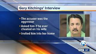 Gary Kitchings: accused rapist Uber driver caught in string of lies, detectives say - Video