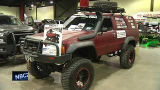 High school students rebuild 1985 SUV