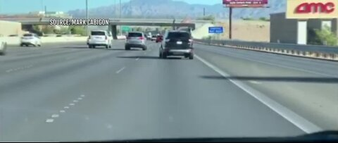 VIDEO: 9-year-old caught driving mom's car in Las Vegas