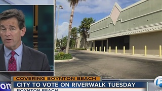 City to vote on Riverwalk Tuesday - Video